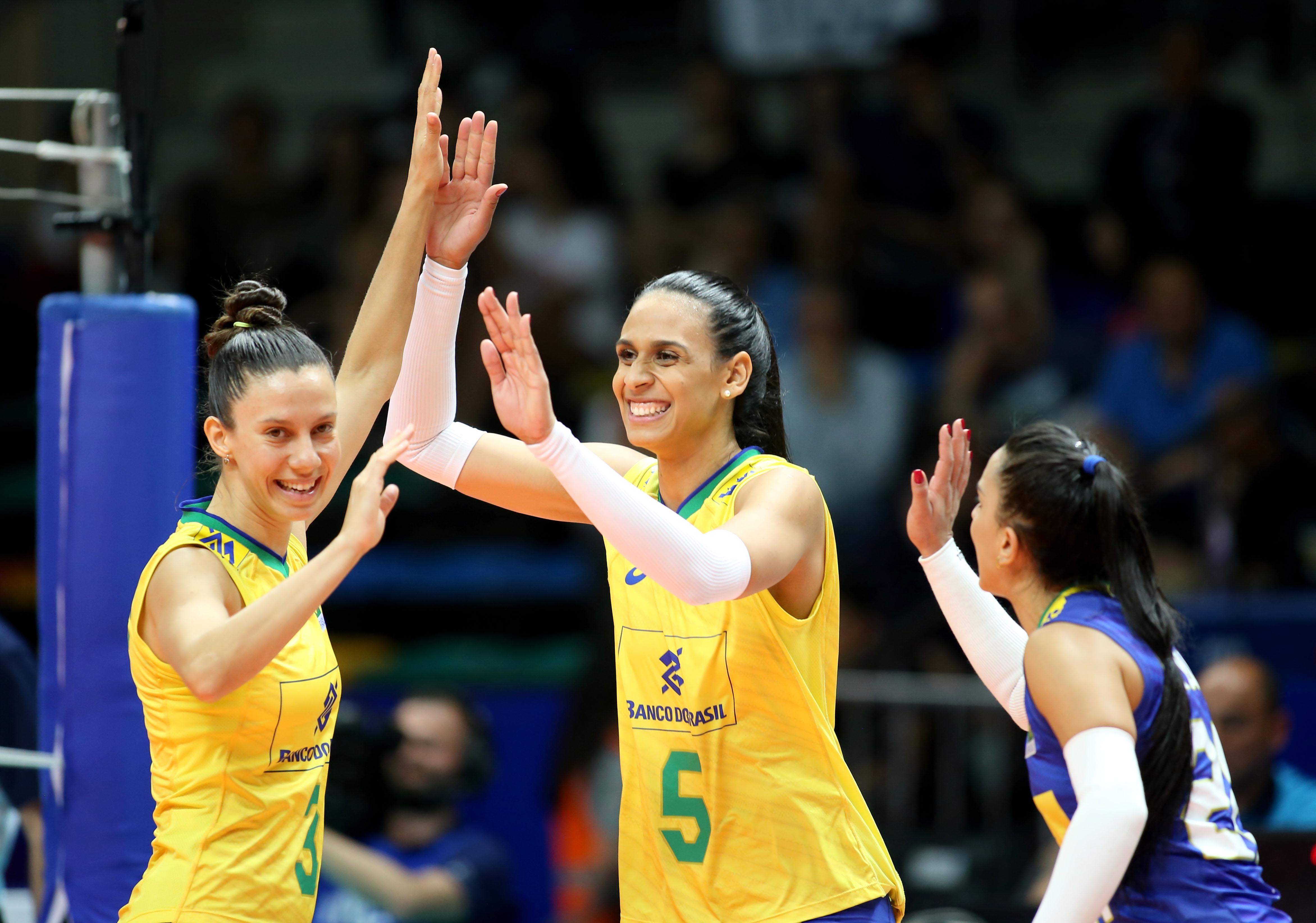 Brasil vence Itália e está na fase final