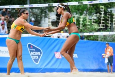 Brasil vence mais três jogos no feminino e dois times saem na liderança do grupo