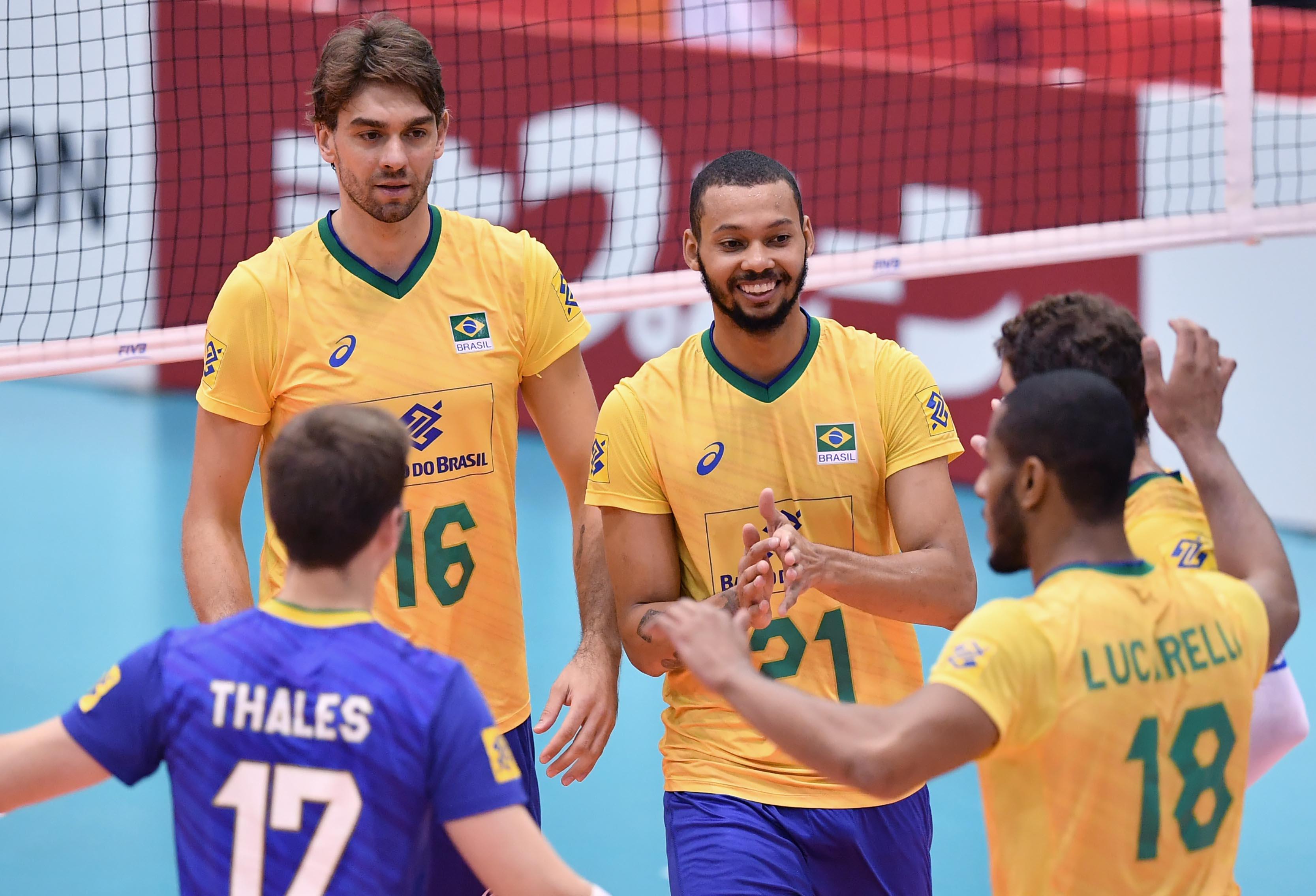 Brasil vence o Egito e é o único invicto do campeonato