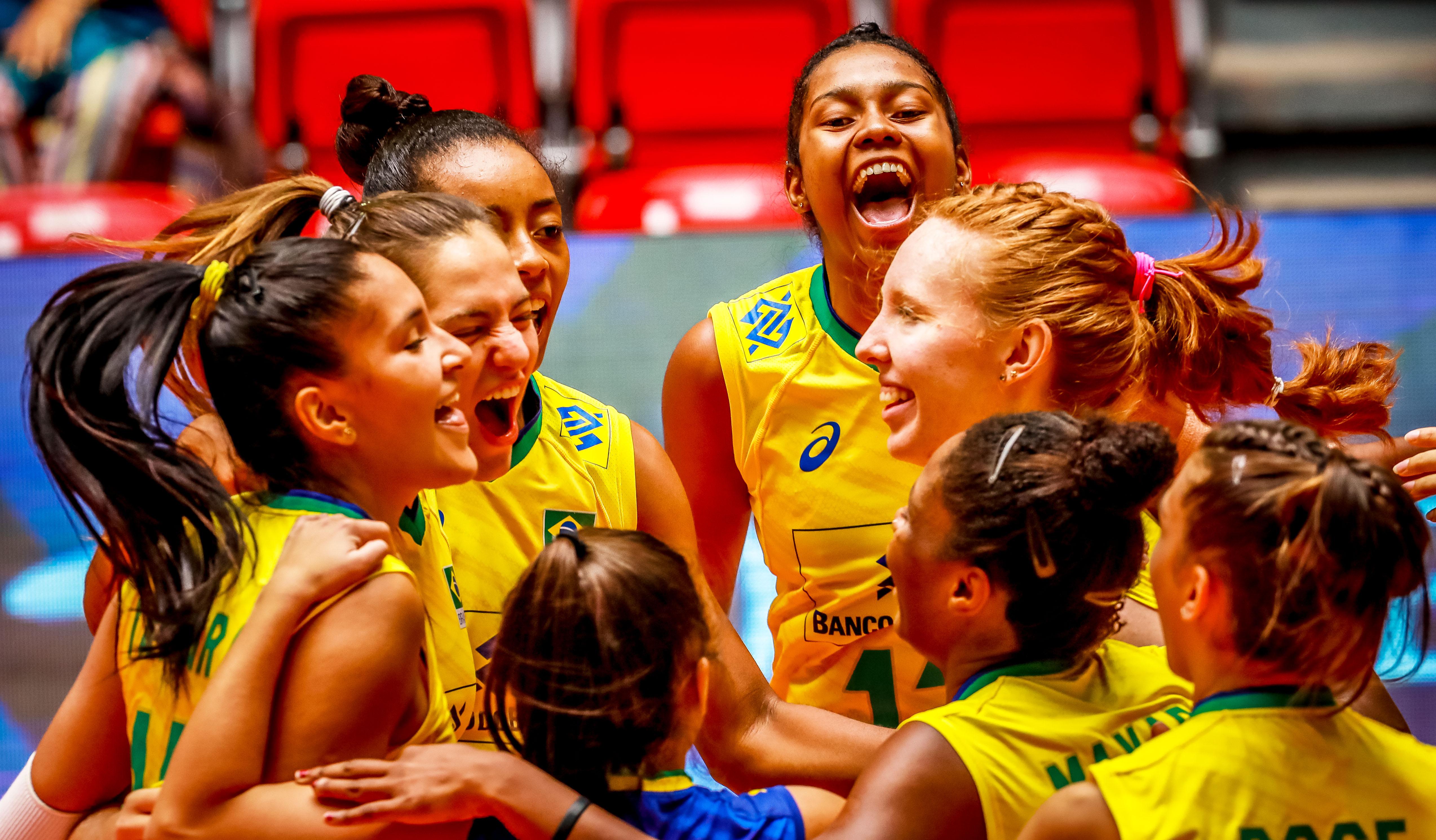 Brasil vence os Estados Unidos e vai disputar o quinto lugar