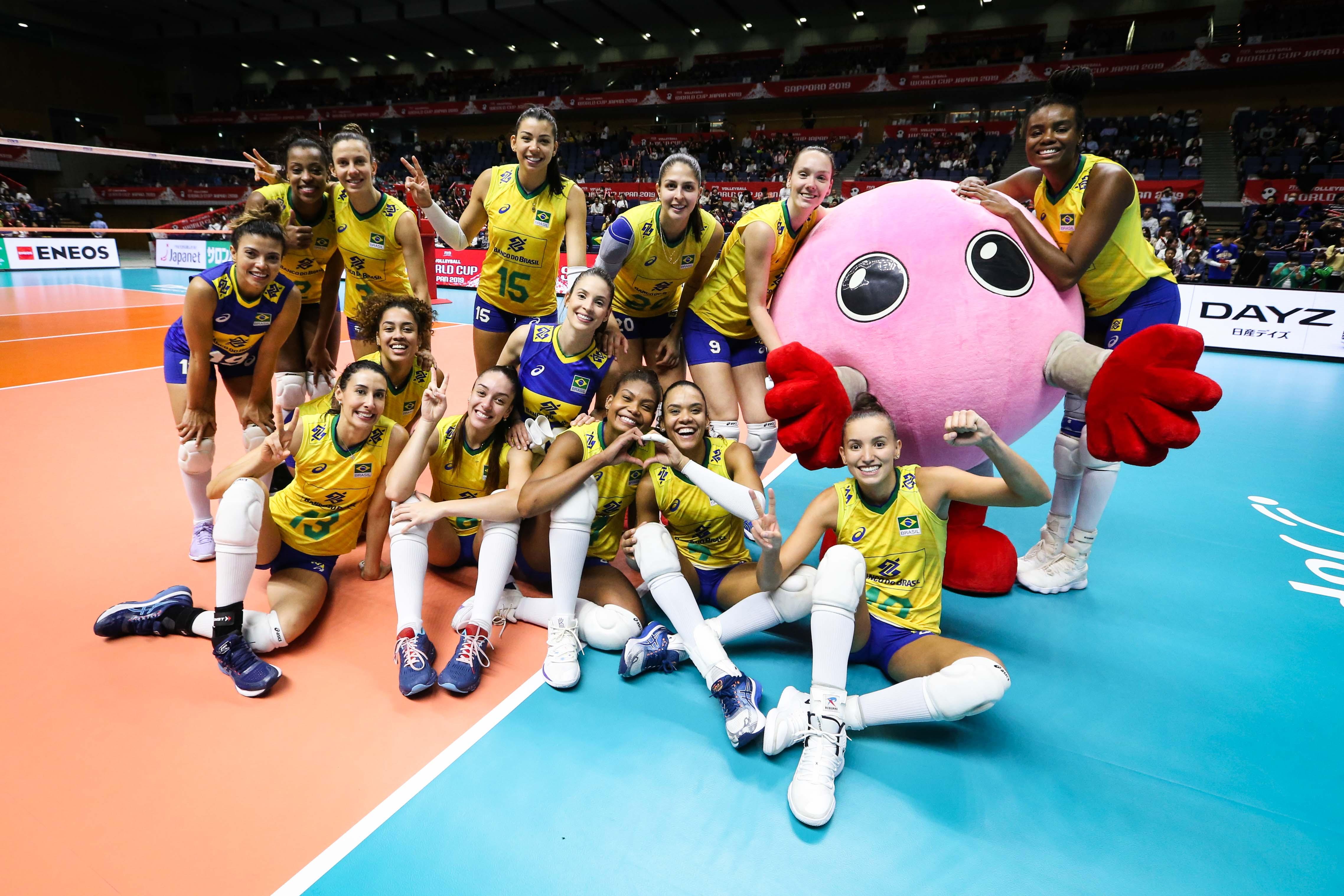 Brasil vence República Dominicana e consegue quarta vitória