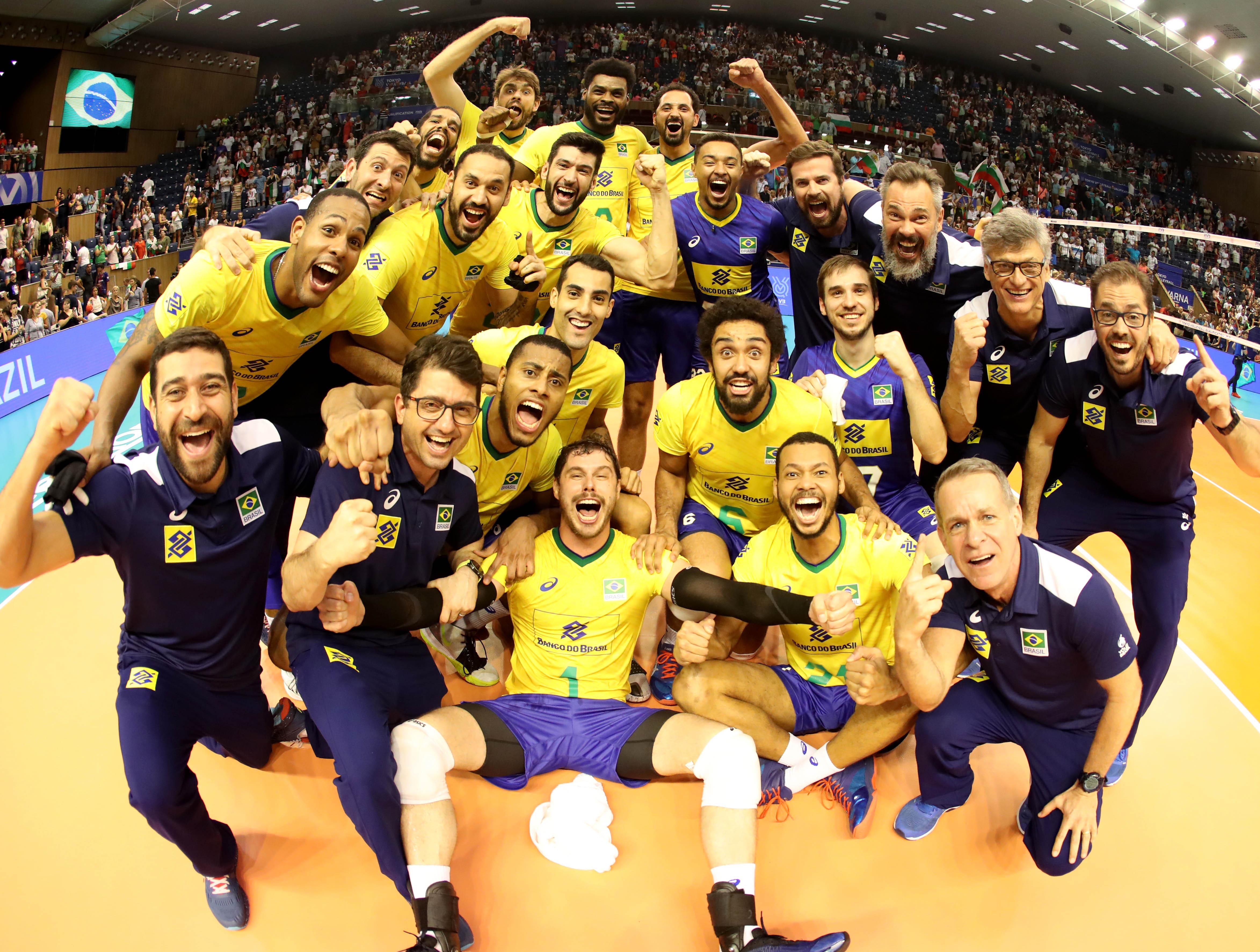 Brasil vira o jogo contra a Bulgária e está garantido nos Jogos de Tóquio-2020