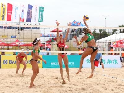 Brasileiras começam torneio na China com quatro vitórias em cinco jogos