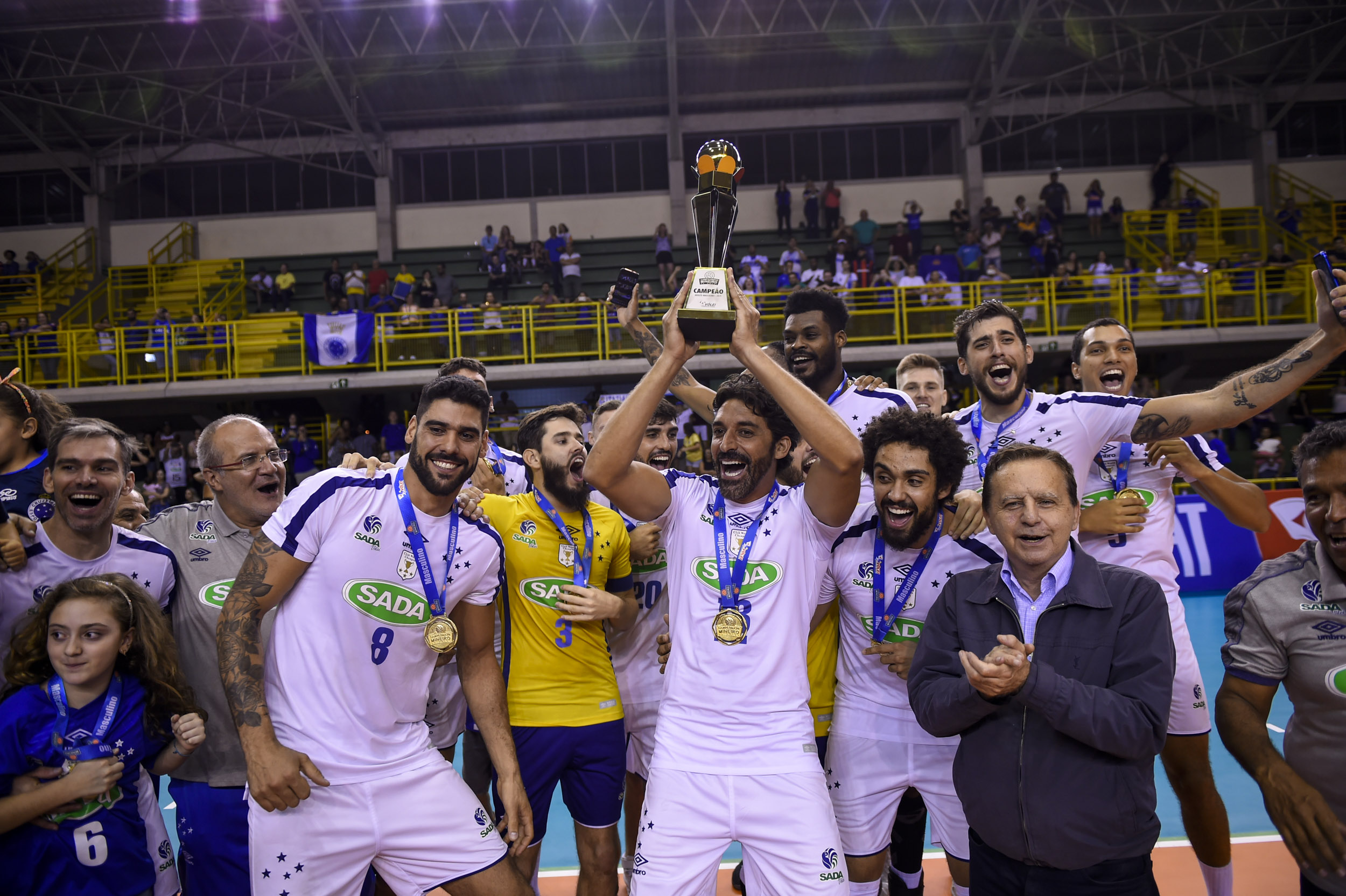 Campeões estaduais, EMS Taubaté Funvic e Sada Cruzeiro se enfrentam na próxima quinta