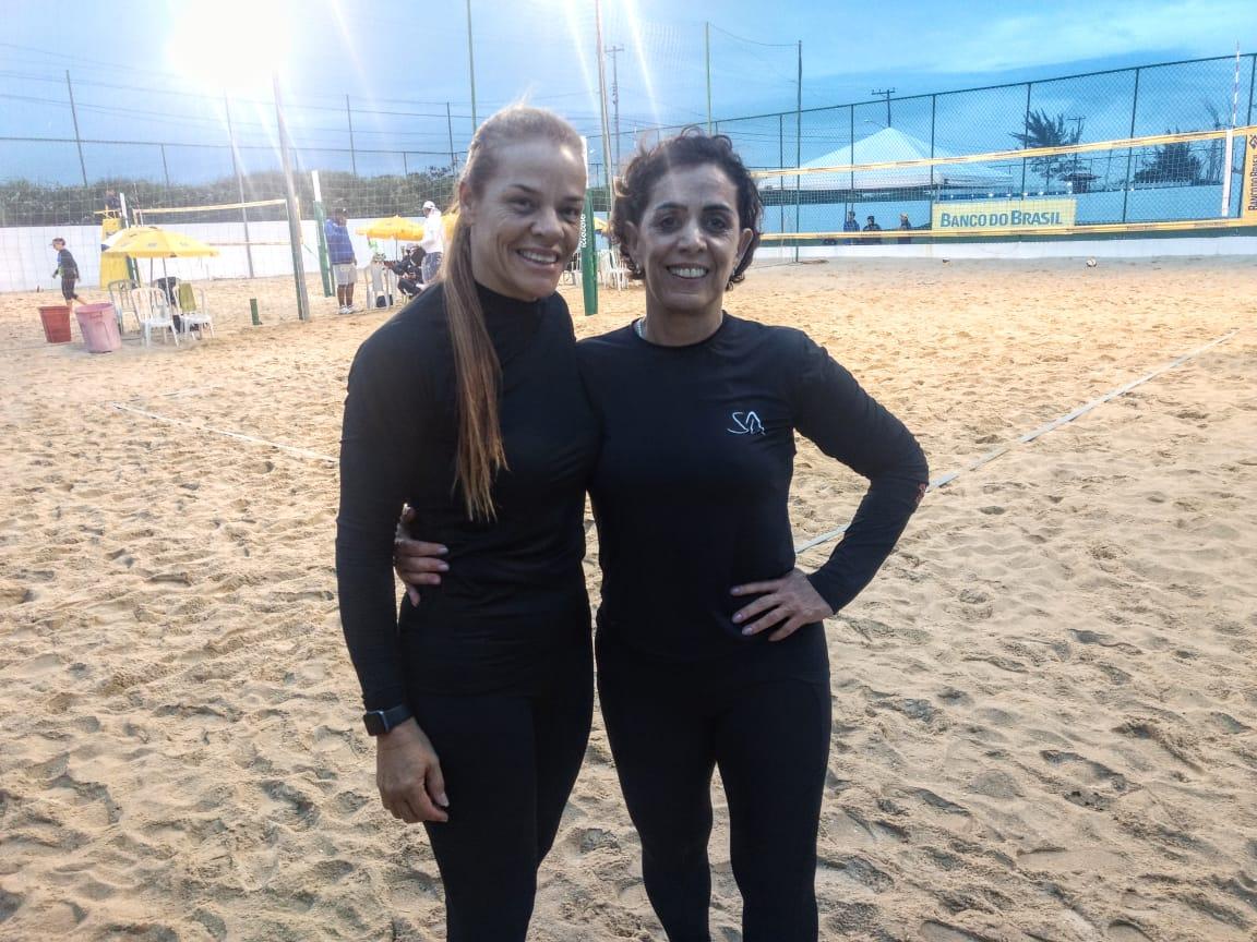 Capixabas Maia e Eliete se recuperam na busca do título das duplas 55+