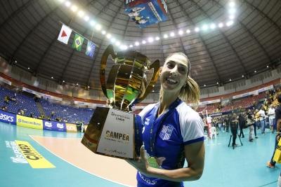 Carol Gattaz lidera Itambé/Minas na conquista da Superliga Cimed