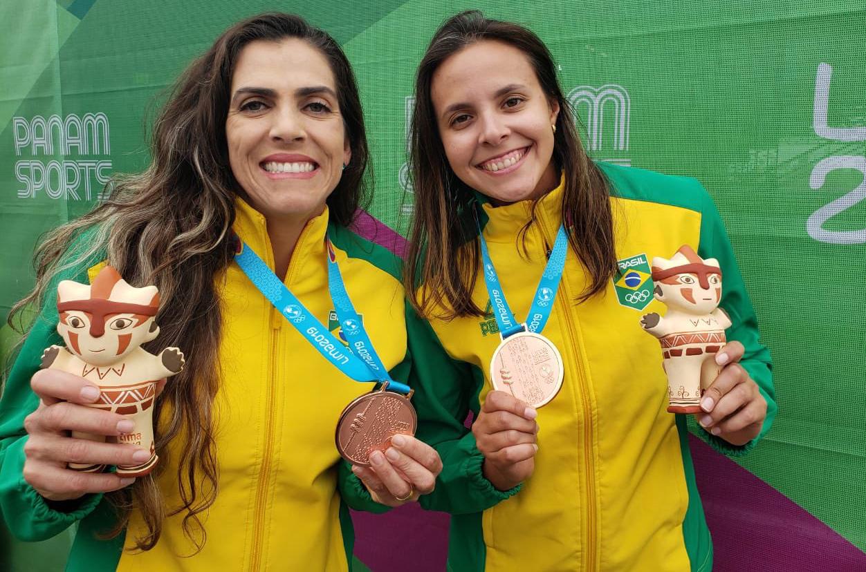Carol Horta/Ângela vence cubanas e conquista o bronze para o Brasil