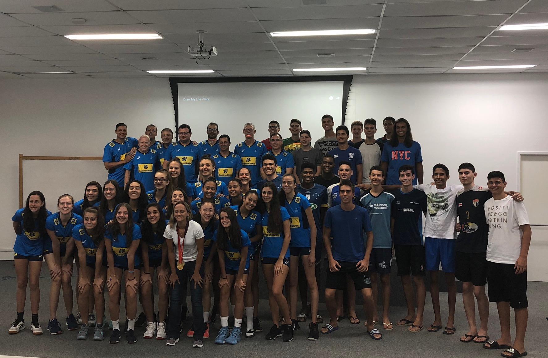CBV convida 80 jovens talentos para avaliações no início de 2020
