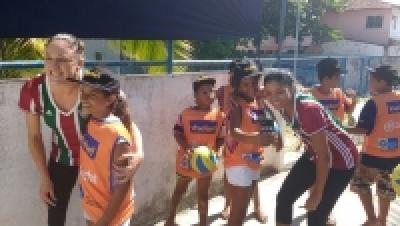 CBV e Light abrem novo núcleo no Recreio com presença de atletas do Fluminense