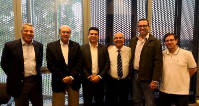 CBV recebe visita de representantes da comissão de clubes