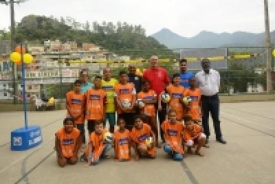 Com a presença do medalhista olímpico Fernandão núcleo no Rio das Pedras (RJ) é inaugurado