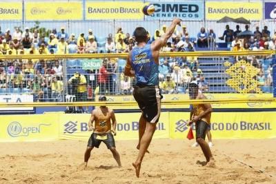 Confirmada a lista de duplas inscritas para a etapa de São Luís (MA)