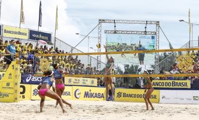 Cuiabá (MT) retorna ao calendário do maior torneio de vôlei de praia do país