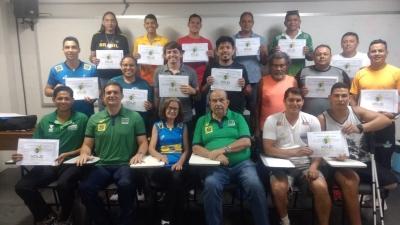 Curso de treinadores nível III aprova 23 candidatos