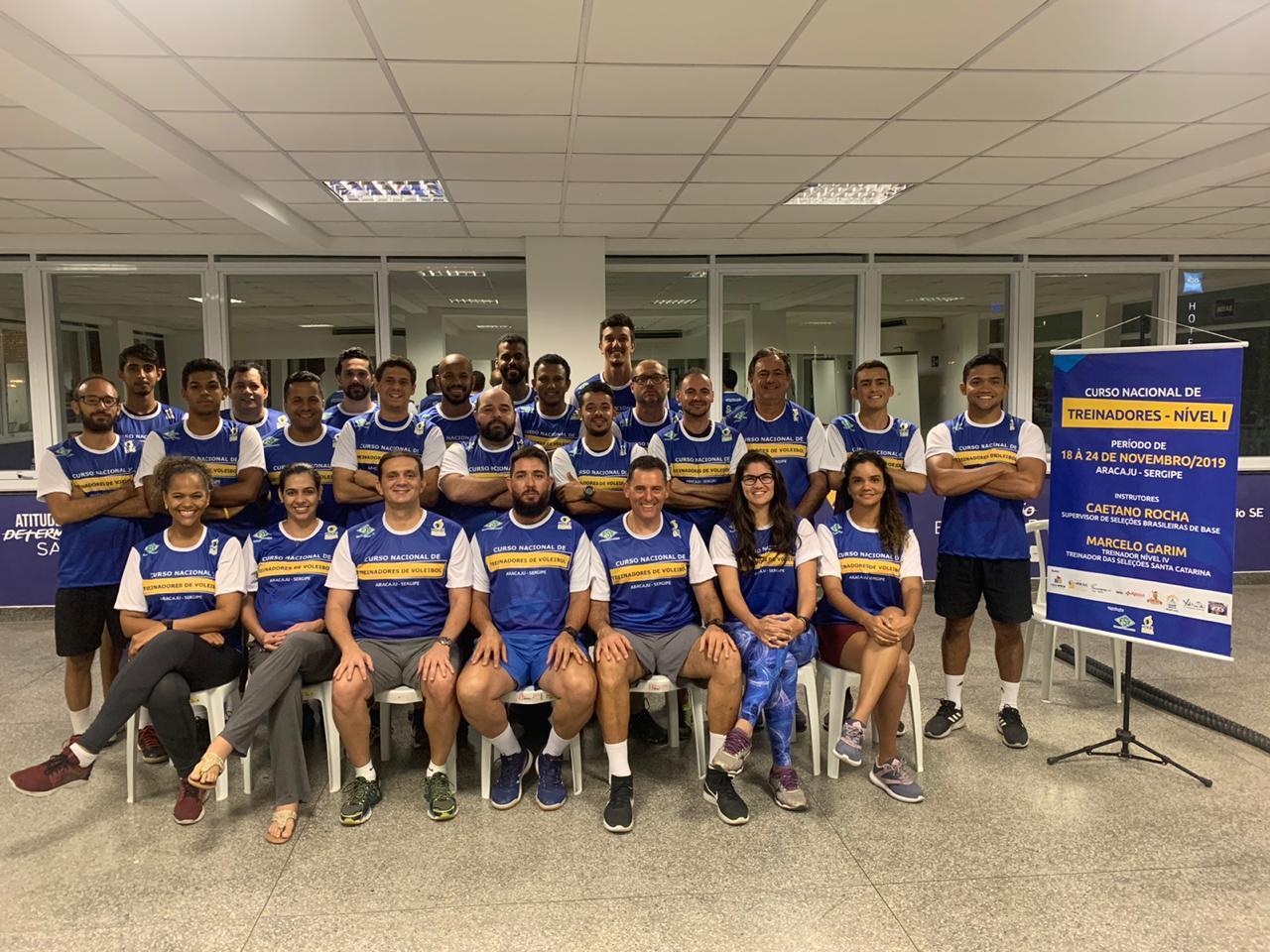 Curso Nacional de Treinadores reúne 24 alunos em Aracaju