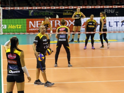 Dentil/Praia Clube e Itambé/Minas fazem segundo jogo da final nesta sexta-feira