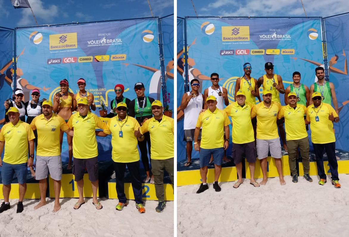 Diana/Andressa e Luciano/Harley ficam com o título em Cabo Frio