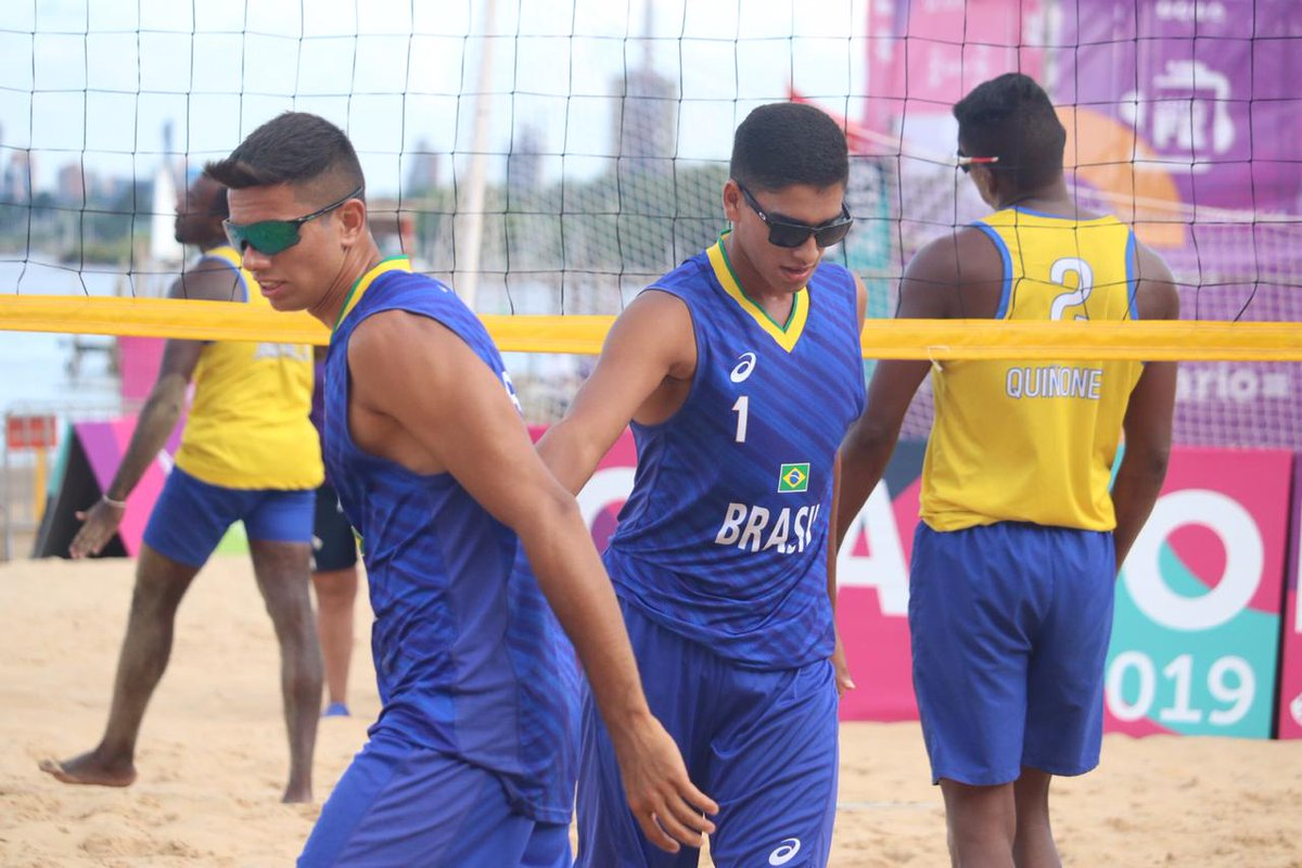 Duplas brasileiras avançam à semifinal na Argentina