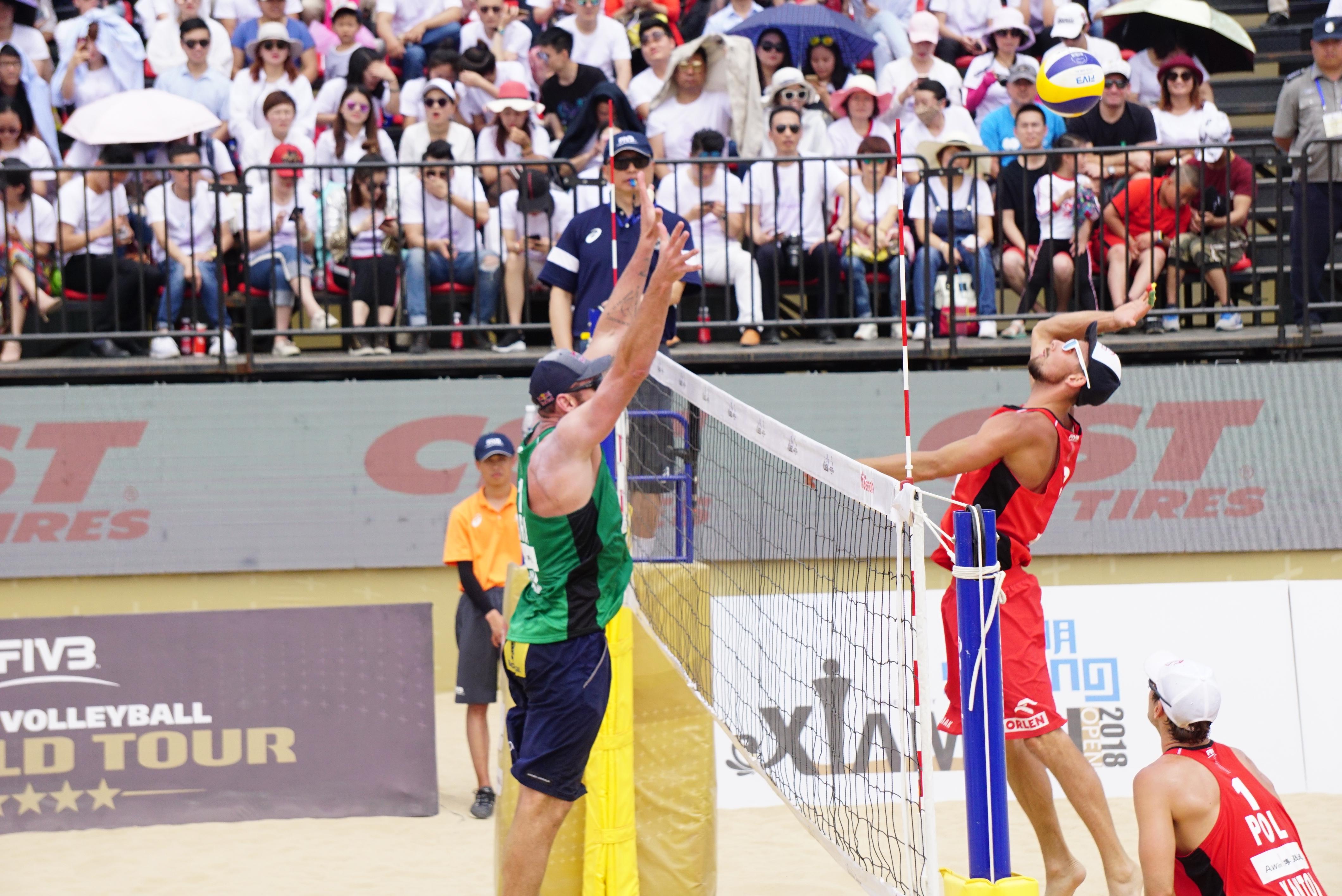 Duplas brasileiras disputam a etapa de Jinjiang, na China