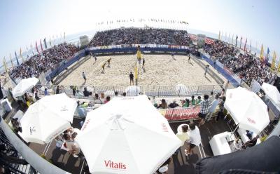 Duplas brasileiras disputam a etapa quatro estrelas de Espinho nesta semana