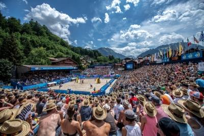 Duplas brasileiras disputam primeira etapa cinco estrelas de 2019, em Gstaad