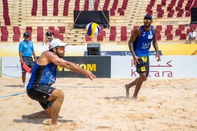 Duplas brasileiras se despedem da etapa de Doha