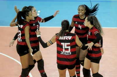 Em casa, Flamengo recebe Maringá/AmaVôlei nesta quinta-feira de olho na elite