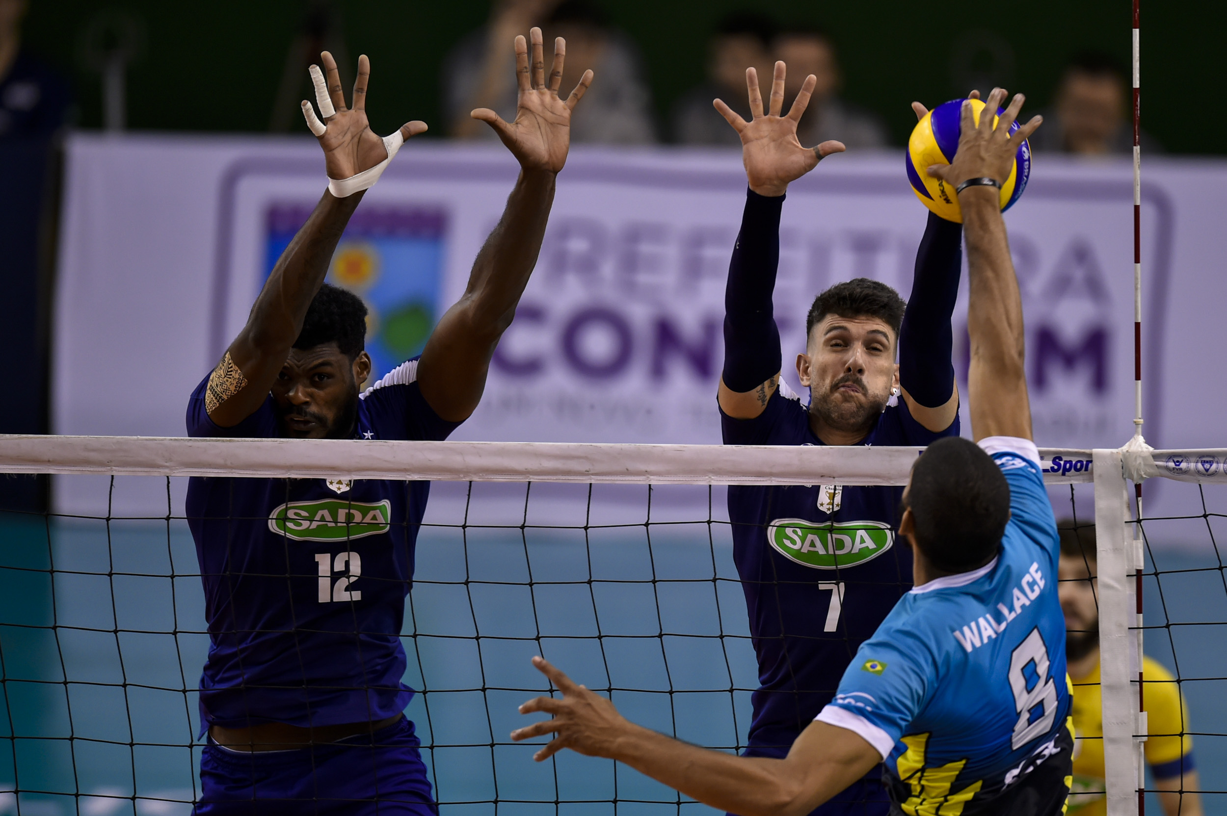Em casa, Sada Cruzeiro vence o Sesc RJ