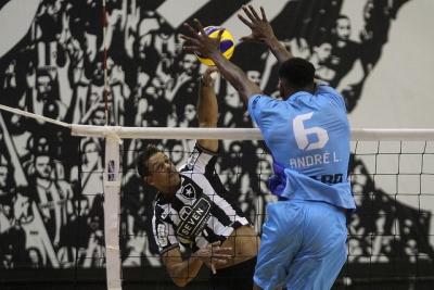 Em duelo de invictos, Botafogo enfrenta Anápolis Vôlei no Rio