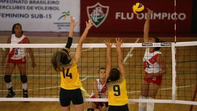Em Laranjeiras, seis jogos movimentam a primeira rodada do sub-15 feminino