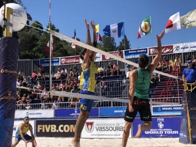 Em Miguel Pereira, apenas duplas do Brasil seguem na disputa por medalhas