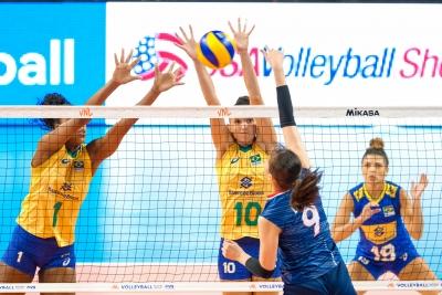 Em Nebraska, Brasil supera a Coréia do Sul em sets diretos