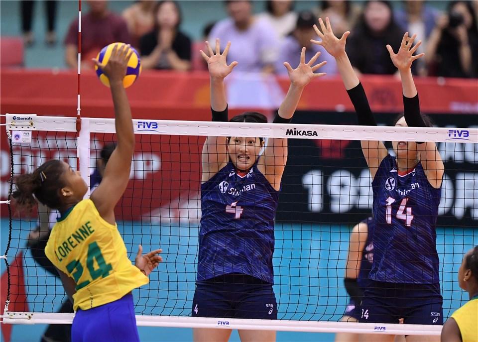 Em Osaka, Brasil é superado pela Coréia do Sul