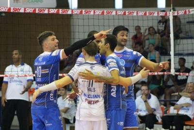 EMS Taubaté Funvic abre rodada com vitória sobre São Judas Voleibol