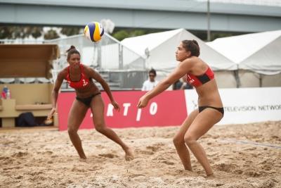 Etapa de Fortaleza (CE) ganha participação de três duplas estrangeiras