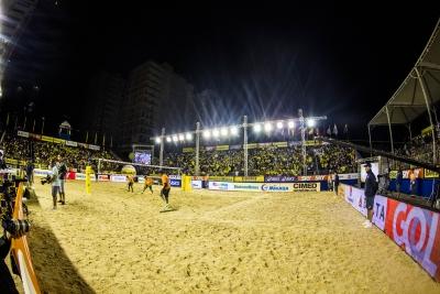 Etapa internacional em Itapema (SC) conta com 16 duplas brasileiras inscritas