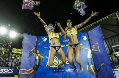 Fernanda e Bárbara levam título da etapa e da temporada em João Pessoa