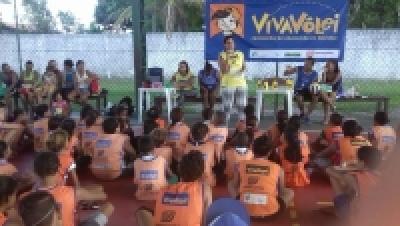 Festa de lançamento e Páscoa agita núcleo Canavieiras (BA)