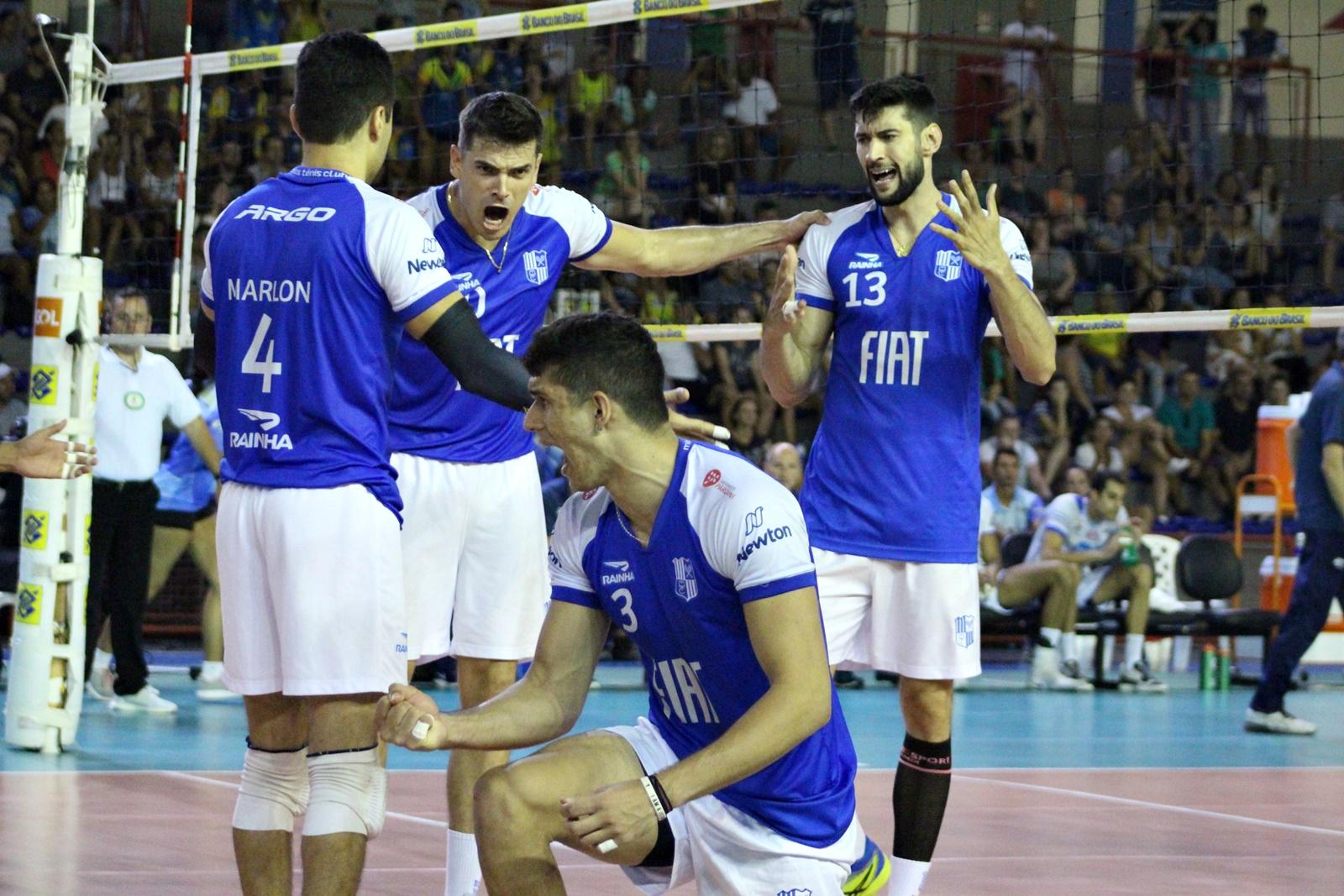 Fiat/Minas vence EMS Taubaté Funvic e está na final contra o Sada Cruzeiro
