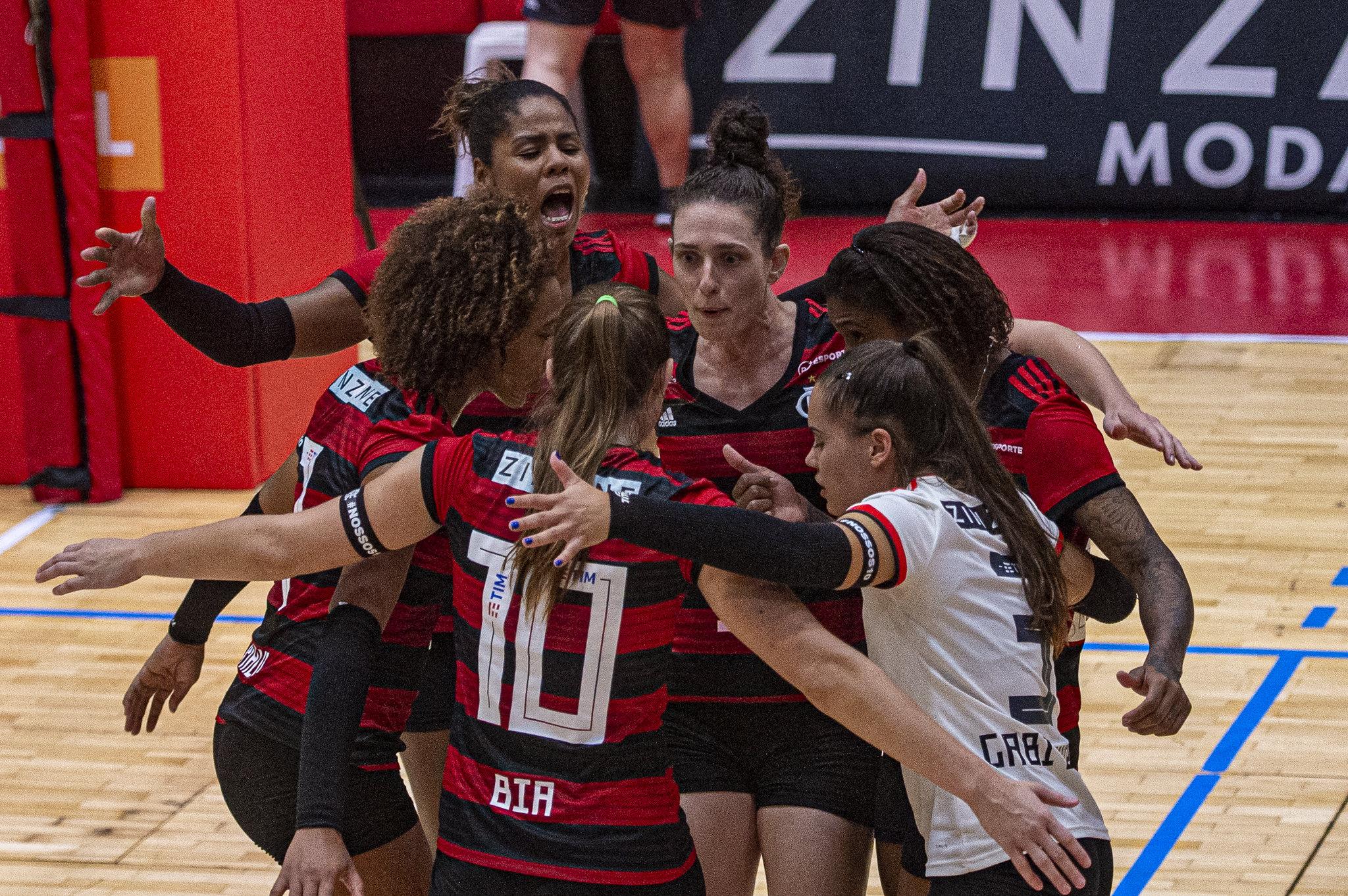 Flamengo estreia contra o Itambé/Minas nesta terça-feira
