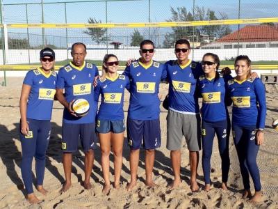 Grupo brasileiro com quatro duplas embarca para o torneio na Tailândia