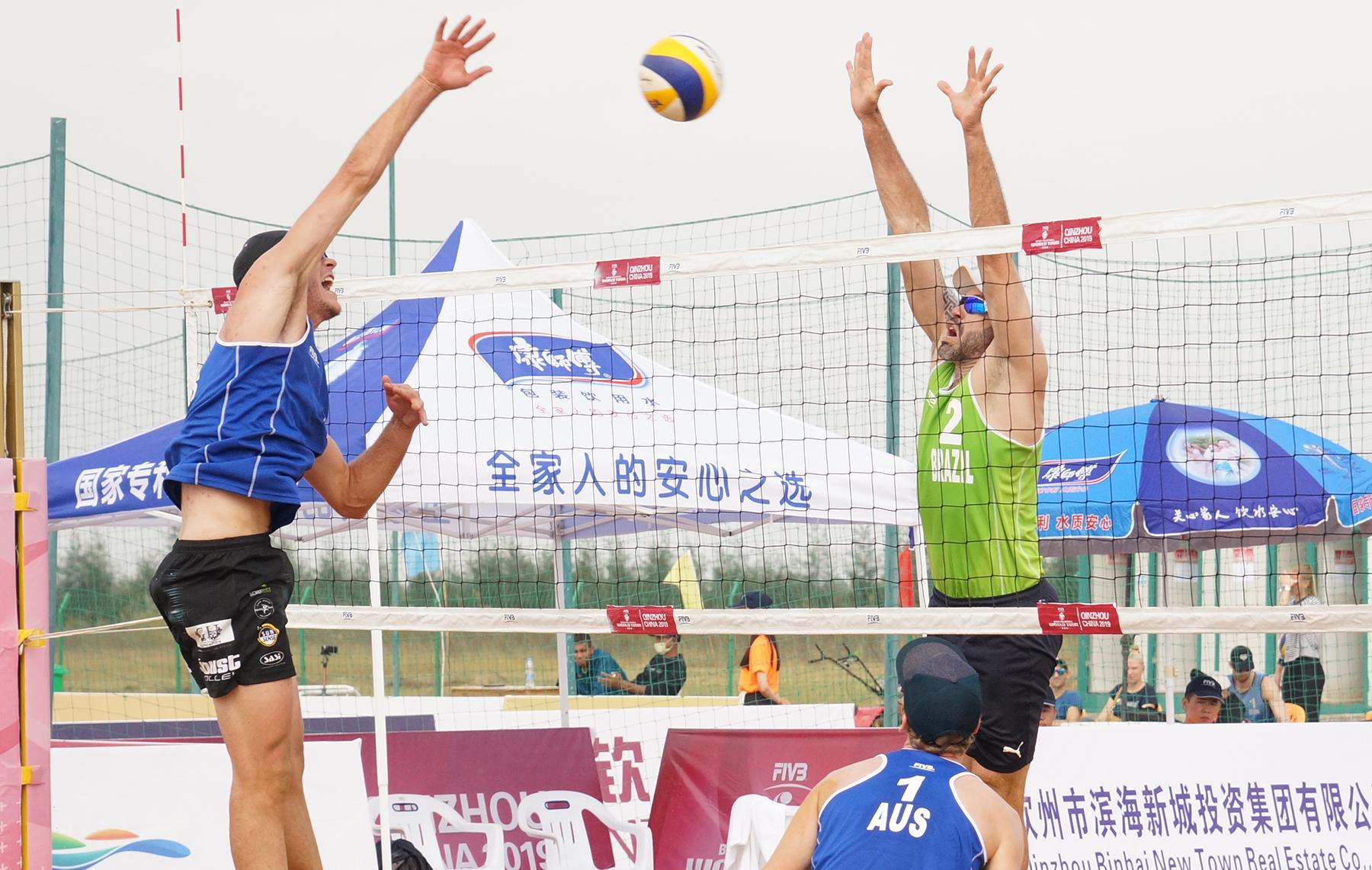 Hevaldo e Vinícius dão adeus à etapa de Qinzhou
