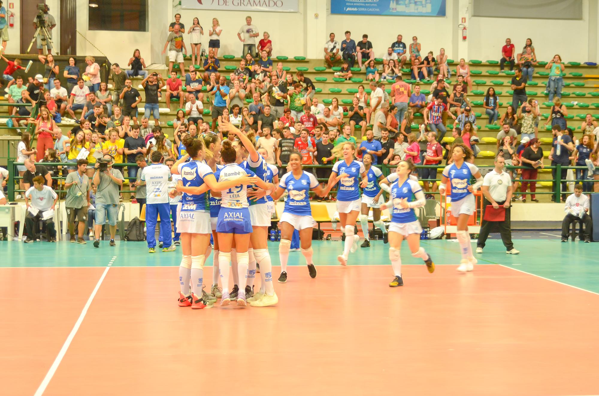 Itambé Minas supera Osasco-Audax e garante lugar na final