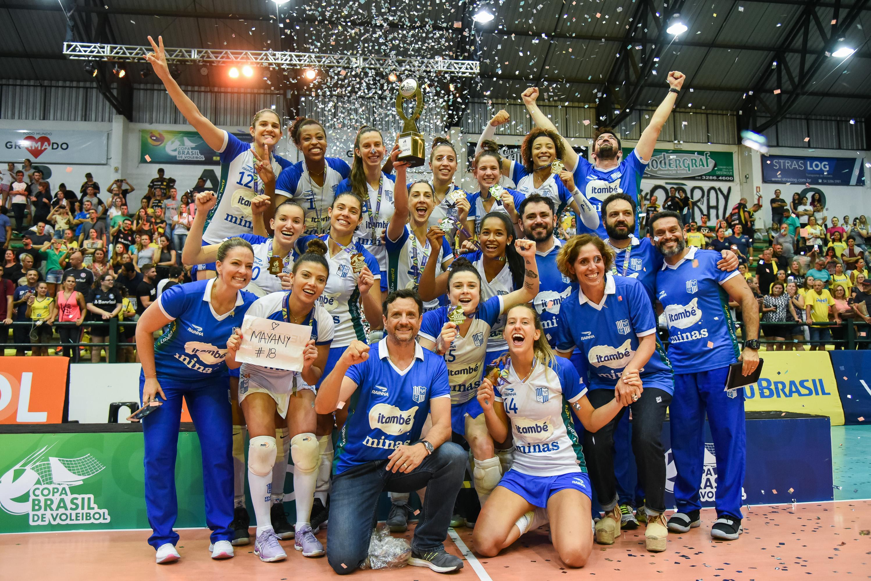 Itambé Minas vence Dentil/Praia Clube e fica com o título