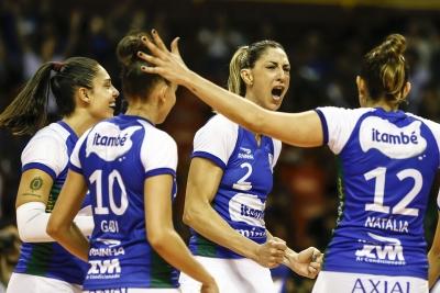 Itambé/Minas vence Dentil/Praia Clube e começa playoff final com vitória
