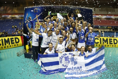 Itambé/Minas vence Dentil/Praia Clube e fica com o título