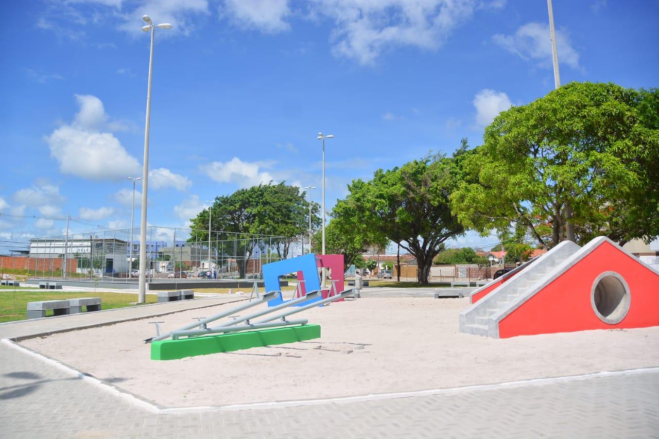 João Pessoa (PB) inaugura Praça Potengi Lucena