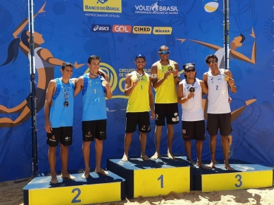 Juliana/Josi e Jô/Léo Vieira levam o ouro em Teresina; títulos gerais são definidos