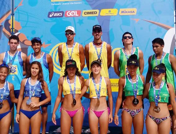Karol/Ágatha (SE) e Gabriel/Patrick (PR) ficam com o título em Cabo Frio