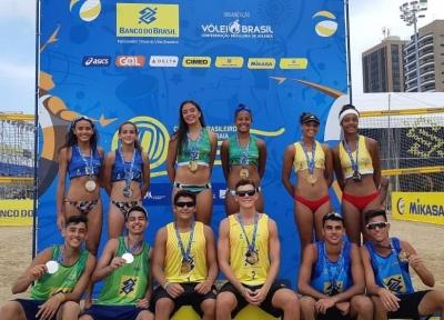 Maria Clara/Anna (RJ) e Thiego/Pablo (PB) levam o título em Fortaleza